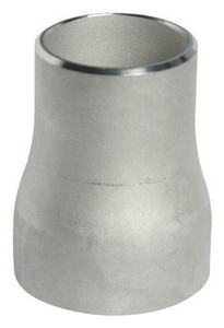 2-1/2 x 1 in. Butt Weld Schedule 10 304L Stainless Steel Concentric Reducer IS14LWCRLG