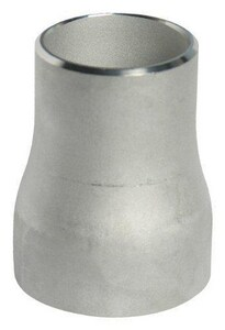 10 x 4 in. Schedule 40 Concentric 316L Stainless Steel Reducer IS46LWCR10P