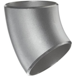 3 in. Weld Schedule 10 Duplex 2205 Stainless Steel 45 Degree Elbow IS12205W4M