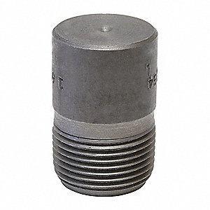 1/2 in. Socket Weld 3000 - 6000# Straight Forged Steel Round Head Plug IFSSRHPD