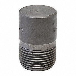 1 in. Socket Weld 3000 - 6000# Straight Forged Steel Round Head Plug IFSSRHPG