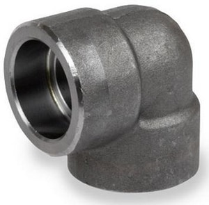3/8 in. Socket 3000# Carbon Steel Forged 90 Degree Elbow IFSS9C