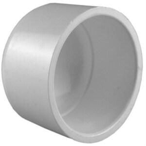 1 in. Socket Schedule 40S Straight PVC Cap IP40SCAPG