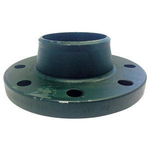 4 in. 300# Standard Weldneck Carbon Steel Raised Face Flange G300RFWNFP-WE