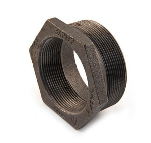 1-1/2 x 1-1/4 in. Black Malleable Iron Bushing IBZBJH