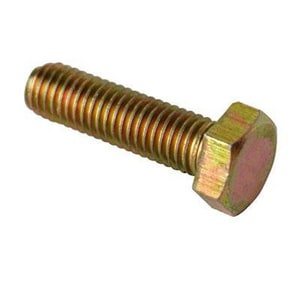 2-3/4 x 3/4 in. Stainless Steel Hex Head Bolt SSHHBF234