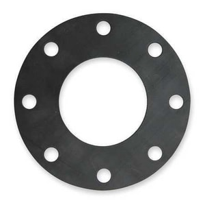 Carson's Nut-Bolt & Tool 4 in. 150# Buna with 1/8 in. Flat Face Gasket R150FFBGP