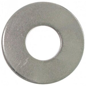 1/4 in. 304L Stainless Steel Flat Washer S4FWB