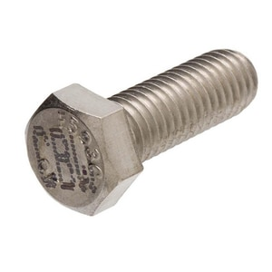 4 x 3/4 in. Stainless Steel Hex Head Bolt SSHHBFP