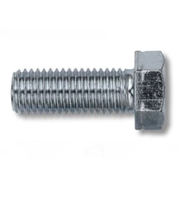 4-1/2 x 1 in. Zinc Machine Bolt MBZGR