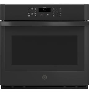 GE Appliances 29-3/4 in. 5 cf Built-in Single Wall Oven in Black GJTS3000DNBB