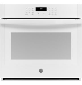GE Appliances 29-3/4 in. 5 cf Built-in Single Wall Oven in White GJTS3000DNWW