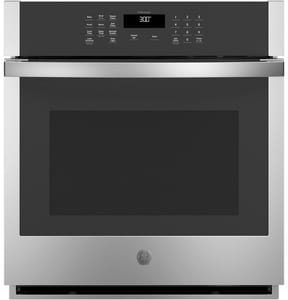 GE Appliances 26-3/4 in. 4.3 cf Built-in Single Wall Oven in Stainless Steel GJKS3000SNSS