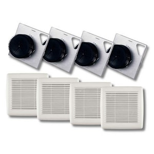 Broan InVent™ Series 110 CFM Bathroom Exhaust Fan in White BA110F