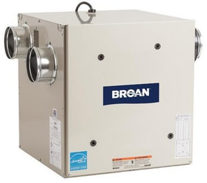 Broan Nutone 77 cfm Heat Recovery Ventilator with Side Port BHRV80S