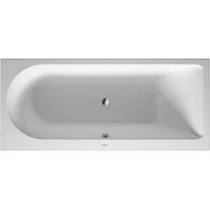 Duravit Darling New 67 x 30 in. Drop-In Bathtub with Center Drain in White D700243000000090
