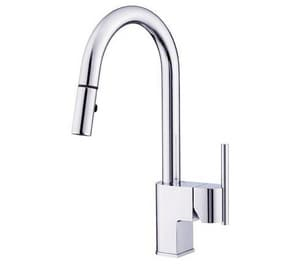 Danze Como™ 1-Hole Kitchen Faucet with Single-Handle DD454542