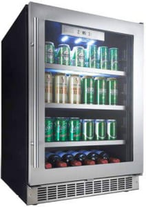 Danby Products Built-In Single Zone Beverage Centre in Stainless Steel DDBC056D4BSSPR