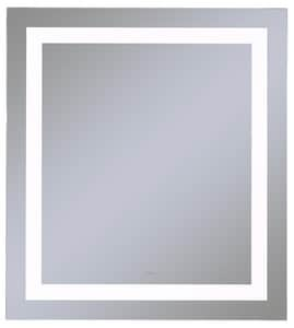 Vitality 24 x 40 in. 4000K Anodized Aluminum Frameless Rectangle Mirror with Light Inset RYM2440RIFPD