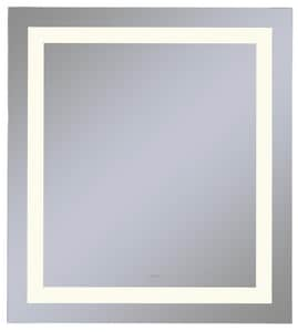 Vitality 30 x 30 in. 2700K Anodized Aluminum Frameless Rectangle Mirror with Light Inset RYM3030RIFPD