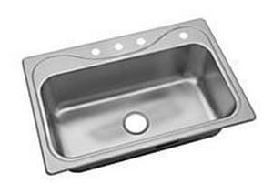 Sterling Southhaven® 1-Bowl Kitchen Sink in Luster Stainless Steel S249124NA