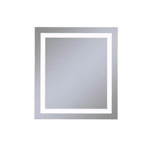 Vitality 36 x 30 in. 4000K Anodized Aluminum Frameless Rectangle Mirror with Light Inset RYM3630RIFPD4