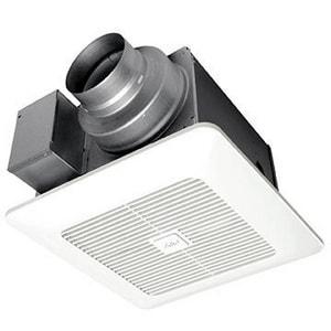 Panasonic WhisperGreen Select™ 4 in. 110 cfm 120V Ceiling Mount Bathroom Exhaust Fan in White PANFV0511VKS2
