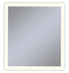 Vitality 30 x 40 in. 2700K Anodized Aluminum Frameless Rectangle Mirror with Light Perimeter RYM3040RPFPD3
