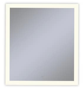 Vitality 36 x 30 in. 2700K Anodized Aluminum Frameless Rectangle Mirror with Light Perimeter RYM3630RPFPD3
