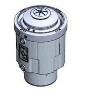 Rinnai Non-Return Flue Check Valve for 3 in. and 4 in. PVC/CPVC Common Vents R790111