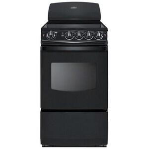 Summit Appliances 24-1/2 in. 2.4 cf Freestanding Electric Range in Black SREX206B