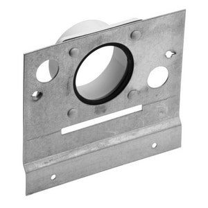 Broan Central Vacuum Mounting Plate in White NCF329