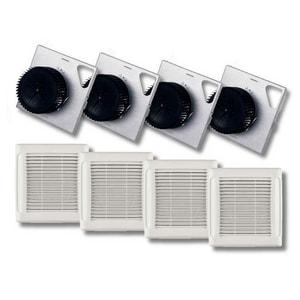 Broan InVent™ Series 110 CFM Bathroom Exhaust Fan in White NAN110F