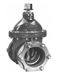 Mueller Company A-2360 Series 4 in. Mechanical Joint Cast Iron Open Right Resilient Wedge Gate Valve MA2360239000OR