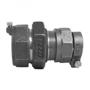 Mueller Company 1 in. CTS Pack Joint x Compression Malleable Coupling MP15421N