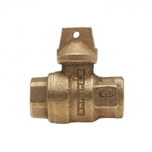 Mueller Company 2 in. FIP Brass Ball Valve Curb Stop MB2028336NK