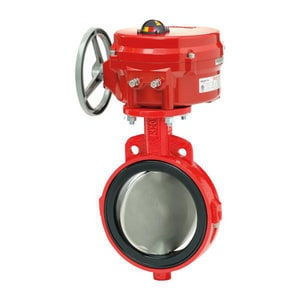 Lineseal III® 16 in. 304L Stainless Steel Buna-N Operating Nut Butterfly Valve M161MM0255SSRNP3