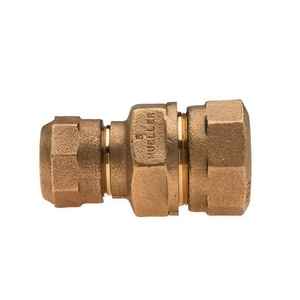 Mueller Company 1-1/4 x 1 in. CTS Compression Union MH15403NHG