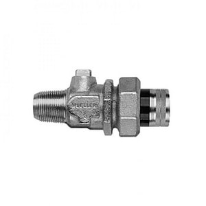 Mueller Company 1 in. FIPT In-Line Ball Curb Valve MN30283N