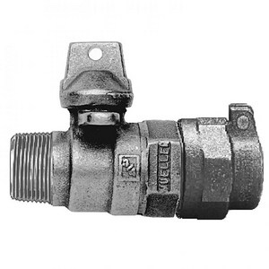 Mueller Company 1-1/2 in. In-Line Ball Curb Valve M025122500N