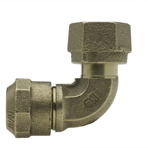Mueller Company 3/4 in. Pack Joint x Swivel Nut Brass Straight Coupling MP15076N