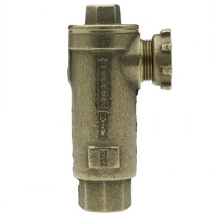 Mueller Company 5/8 x 3/4 in. Lock Nut x FIP Angle Check Valve MH14464ANEFF