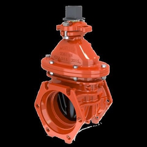 Mueller Company A-2361 Series 4 in. Flanged Ductile Iron Open Left Resilient Wedge Gate Valve MP236106POL