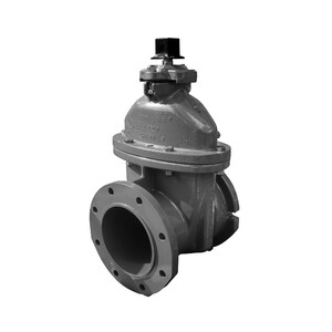 Mueller Company T-2362 Series 10 in. Mechanical Joint x Flanged Ductile Iron-Rubber Resilient Seated Waterworks Tapping Valve MT23621910OL