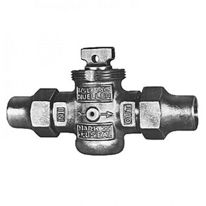 Mueller Company 1-1/2 in. Flared Brass Curb Valve MH15164NJ