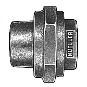Mueller Company 5/8 x 1/2 in. MIPT Brass Coupling MH10050NED