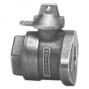 Mueller Company 1-1/2 in. FIP x Flanged In-Line Ball Meter Valve MB2433741NJ