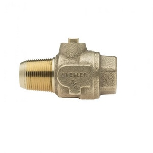 Mueller Company 1 in. Brass Ball Valve Corporation Stop M02004500330N