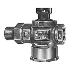 Mueller Company 3/4 in. Flared x FIPT Curb Valve MH15176NF