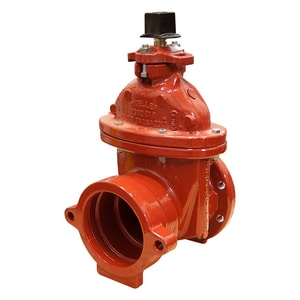 Mueller Company A-2362 Series 10 in. Push On x Flanged Ductile Iron Open Left Resilient Wedge Gate Valve MA236243E41310OL